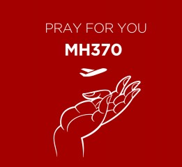Pray for you MH370 (为你祈祷MH370