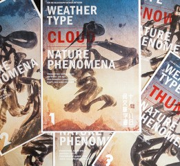 WEATHER TYPE  NATURE PHENOMENA 字(